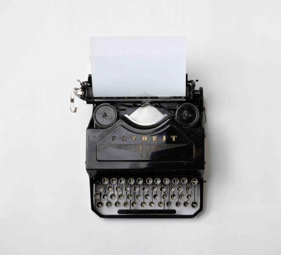 Vahnanaikainen kirjoituskone